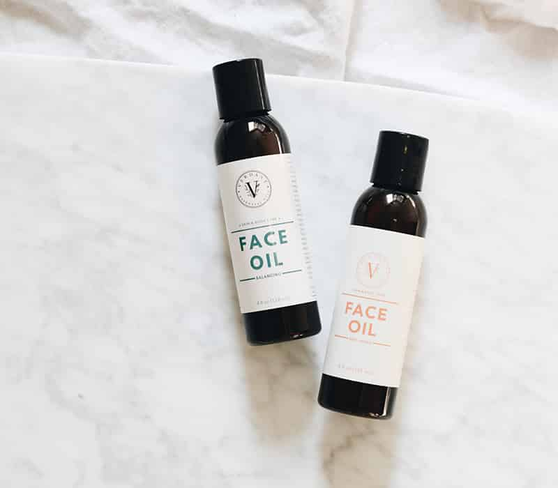two face oils by verdant oils